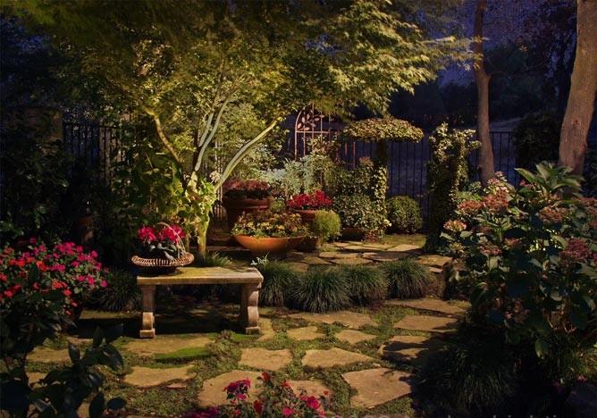Landscape Lights Too Dim : Mystical romantic moon gardens lux magazine